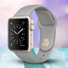 ساعت هوشمند Apple Watch2, 38mm Aluminium, Gold CONCRTE
