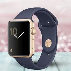 ساعت هوشمند Apple Watch2, 42mm Aluminium, Gold (Midnight)