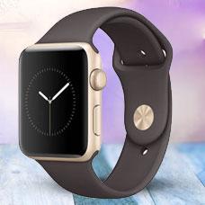 ساعت هوشمند Apple Watch2, 42mm Aluminium, Gold (Cocoa)