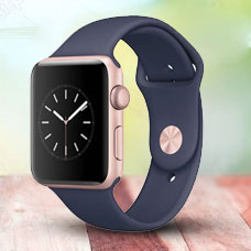 ساعت هوشمند Apple Watch2, 42mm Aluminium, Rose Gold (Midnight)
