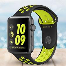 ساعت هوشمند Apple Watch2, 42mm Aluminium, Nike(Black Volt)