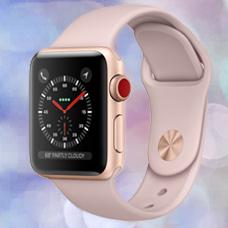 ساعت هوشمند Apple Watch3, 42mm, Aluminium,Gold