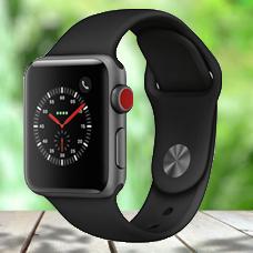 ساعت هوشمند Apple Watch3, 38mm, Aluminium ,Gray