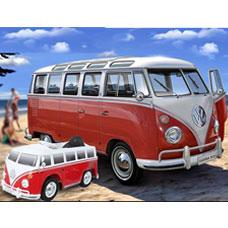 ماشین شارژی کودک GOOD BABY مدل VW BUS