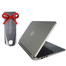 HP LAPTOP ab582TX+Sandisk Flash 16GB Cruzer Force