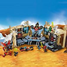 لگو مدل Samurai X Cave Chaos کد 70596