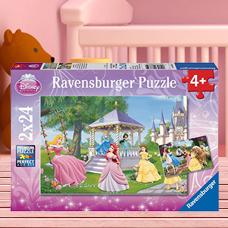پازل 2x24 تکه RAVENSBURGER مدل Enchanting Princesses