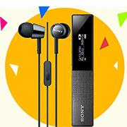 دستگاه ضبط صدا سونی BUNDLE EX150AP + SONY TX650