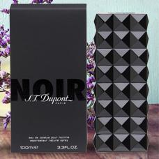 ادو تویلت مردانه 100ml, S.T.DUPONT Noir Pour Homme