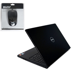 NOTEBOOK DELL 5559 INS 0939 + Blest Wired Mouse