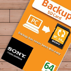 کارت حافظه SONY backup SD-SN-BA64GB