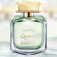 ادو تویلت زنانه 80ml, ANTONIO BANDERAS Queen of  Seduction