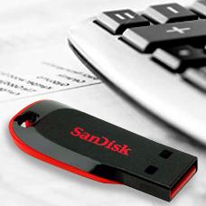 SANDISK-Cruzer Blade-SDCZ50-008G-B35