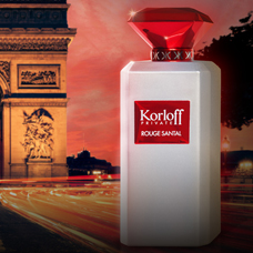 ادوتویلت مردانه 88ml, KORLOFF Rouge Santal