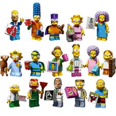 لگو مدل Minifigures Simpsons کد 71009