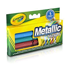 ماژیک متالیک CRAYOLA مدل  5054CR Metallic Markers