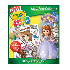 دفتر رنگ آمیزی CRAYOLA مدل0239CR Mess Free Coloring Bright & Magical Colors