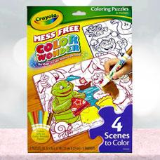 رنگ آمیزی و پازل CRAYOLA مدل 1825CR Coloring Puzzles & Markers