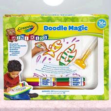 تخته نقاشی جادویی CRAYOLA مدل 1969CR Doodle Magic