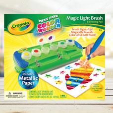 قلم جادویی CRAYOLA مدل 2063CR Magic Light Brush Drawing Pad