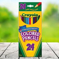 مدادرنگی CRAYOLA مدل 4024CR 24 ct Long