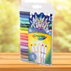 ماژیک CRAYOLA مدل 93102CR 16 Mini Supertips