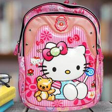 کیف دخترانه hello kittyمدل C1004