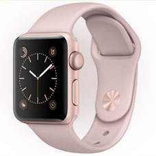 ساعت هوشمند Apple Watch, 42mm Sport , Rosegold(Pinksand)