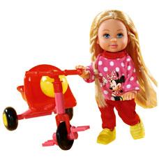 عروسک  EVI و سه چرخه SIMBA مدل5746352
