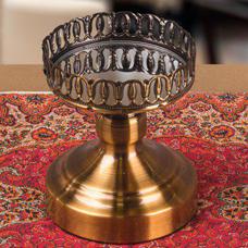 شمعدان طلایی گلدکیش، مدل BRIGHT کد 649712