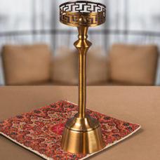 شمعدان طلایی بزرگ گلدکیش، مدل BRIGHT کد 647804