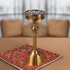 شمعدان طلایی متوسط گلدکیش، مدل BRIGHT کد 647803