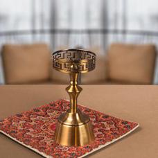 شمعدان طلایی کوچک گلدکیش، مدل BRIGHT کد 647802