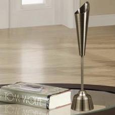 شمعدان جفت نقره ای بزرگ گلدکیش، مدل BRIGHT کد 647809