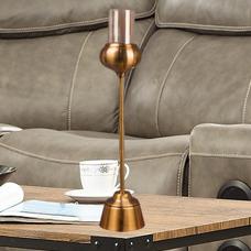 شمعدان طلایی بزرگ گلدکیش، مدل BRIGHT کد 647816