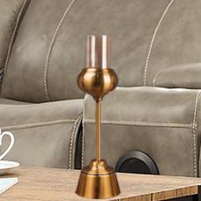 شمعدان طلایی کوچک گلدکیش، مدل BRIGHT کد 647814