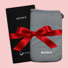 پاوربانکSONY CP-V9 همراه با کیف
