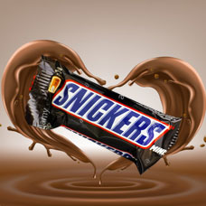 شکلات Snickers کوچک