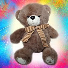 عروسک خرس قهوه ای روشن