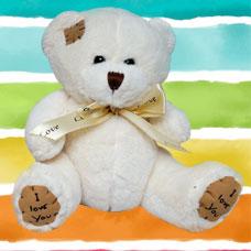 عروسک خرس سفید