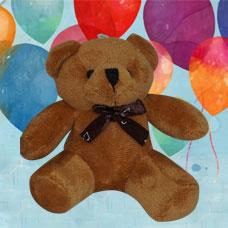 عروسک خرس کرم و قهوه ای جاسوییچی