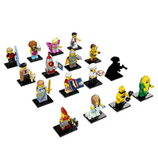 لگو مدل Minifigures Series 17 کد 71018