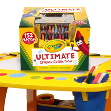 پاستل شمعی CRAYOLA مدل 152ULTIMATE CRAYON COLLECTION 0030CR