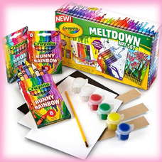 پاستل شمعی CRAYOLA مدل 0022CR CRAYON MELTDOWN SET