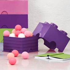 جعبه لگو مدل 2x2 LEGO Box Purple کد 853381
