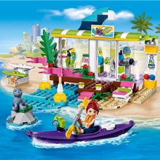 لگو مدل Heartlake Surf Shop کد 41315