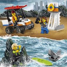 لگو مدل Coast Guard Starter Set کد 60163