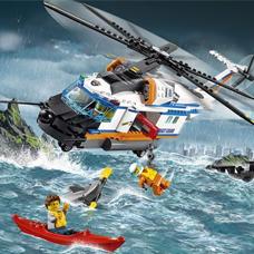 لگو مدل Heavy duty Rescue Helicopter کد 60166