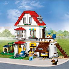 لگو مدل Modular Family Villa کد 31069