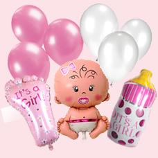 پک بادکنک نوزادی دخترانه